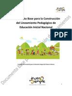 8.Para Construccion Lineamiento Pedagogico de Educacion Inicial