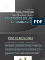 Beneficios en una organización