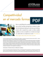 Competitividad en el mercado farmacéutico