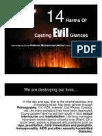 14 Harms of Casting Evil Glances Slides