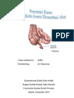 Dr. Himawan - Appendisitis Kronik Eksaserbasi Akut