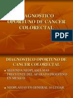 Diagnostico Oportuno de Cancer Colorectal Done