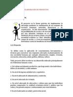 ELABORACIÓN DE PROYECTOS UNIDAD 1