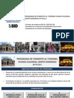 Proyecto reconstrucción calles Ciudad Colonial