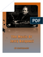 The music of Jerry Bergonzi  in Bb