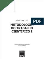Apostila Metodologia científica da passo 1 MTC1[1]