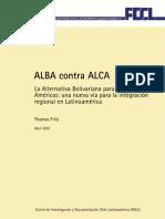 ALBA Contra ALCA Thomas Fritz FDCL Esp