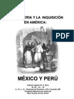 La Masoneria y La Inquisicion en America Mexico y Peru en Espanol