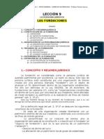 LECCIÓN 9 - LAS FUNDACIONES