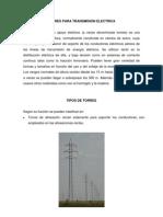 Torres Para Transmision Electrica