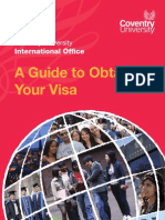 Obtaining Your Visa