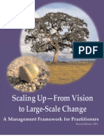 Scaling Up Framework - From Vision to Large-Scale Change
