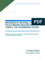 Ozgur Uckan-Governance Phobia
