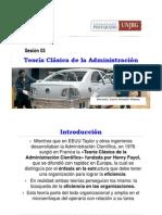 SESION 03 Teoria Clasica de La Administracion
