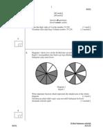 Matematik Kertas 2 - Lipis
