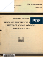 1) EM 1110 345 413 Design of Structures to Resist the Effects of Atomic Weapons
