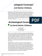Archeological Coverups