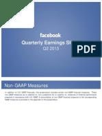 FB Q213 Investor Deck