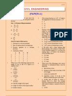 Obj CivilEngineering 2007Paper II