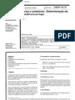 NBR 6.479 (1992-Portas e vedadores determinação da resistência ao fogo)
