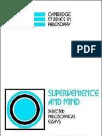 Jaegwon Kim - Supervenience and Mind