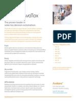 Avatax Calc Infor