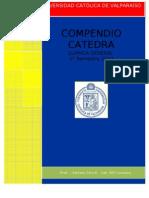 Compendio Qui 222 2 Prueba de Catedra 1 -1