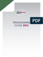 Eurosport - přehled nejzajímavějších přenosů v roce 2013