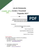 Feria de Orientación_2013