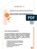 Semana 9 - Factor Movimiento