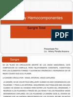 Sangre y Hemocomponentes Arleny