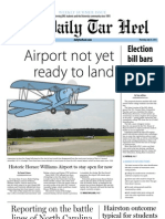 The Daily Tar Heel for July 25, 2013