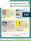 One Book, One Community