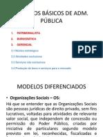 MODELOS BÁSICOS DE ADM