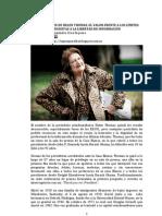 EN LA MUERTE DE HELEN THOMAS. EL VALOR FRENTE A LOS LÍMITES SIONISTAS A LA LIBERTAD DE INFORMACIÓN