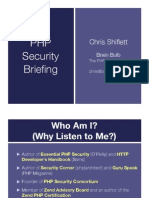 Php Security Briefing