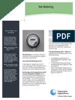 CL&p Net Metering Brochure
