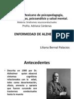 Presentacion Alzheimer Para Examen Final de Sindromes