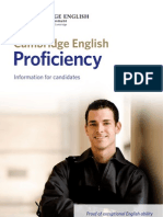 Cambridge Proficiency Test Info