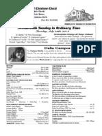 Parish Bulletin for July 28, 2013