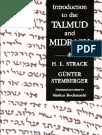 introdução ao talmud e ao midrash
