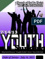 7-14-13 Sunday Program Final