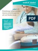 Brosur NeoBloue Blanket LED Phototherapy