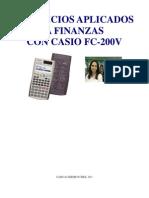 Ejercicios Casio Fc200v