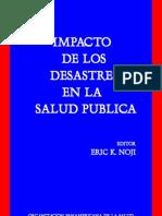 Impacto de Los Desastres en La Salud Publica