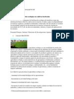 Bases de la fertilización ecológica en cultivos hortícolas