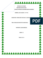 Guía de estudio y aprendizaje 3