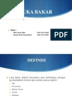 Css Luka Bakar