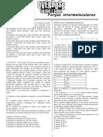 Lista - Forcas Intermoleculares
