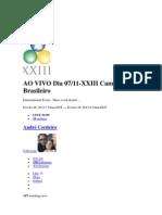 Chat Do Campeonato Brasileiro Snooker